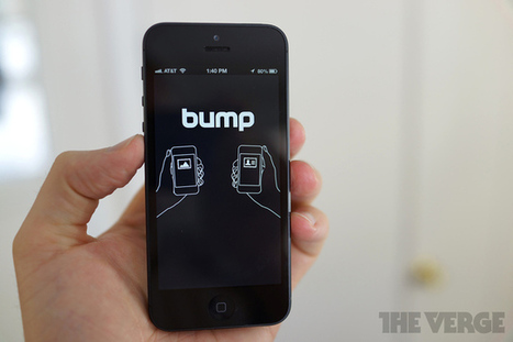 Google acquires Bump, a startup that enables devices to wirelessly share data | Inside Google | Scoop.it