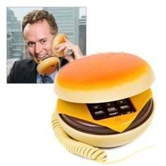 Téléphone Cheeseburger par MegaGadgets | La Fête des secrétaires, assistantes et assistants | Scoop.it