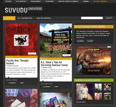 Random House Launches SF/Fantasy Writing Community : Publishing Perspectives | Digital Publishing, Tablets and Smartphones App | Scoop.it