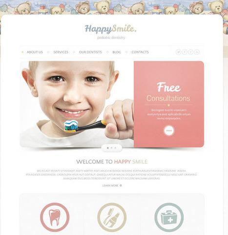 20 Responsive html dentist website templates - DesignMain.com | Designmain.com - Design, Inspiration & Freebies | Scoop.it