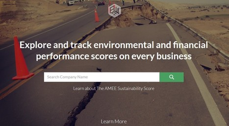 AMEE >> Sustainability Scores and Free financial & environmental business risk insight | GO Sustainable GO Versatile | Scoop.it