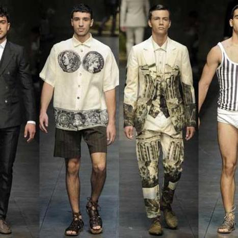 Dolce&Gabbana rinde homenaje al mundo antiguo en Milán | Referentes clásicos | Scoop.it