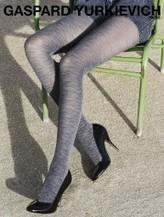 Gerbe - Exclusive strumpbyxa i jeans-look Very Denim från Gaspard Yurkievich with Gerbe | strumpbyxor boutique | Scoop.it