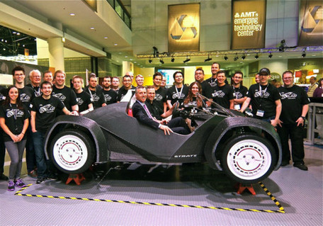 Local Motors 3D-Prints Incredible Full-Scale Car in Just 44 Hours! | Innovation at the Verge | Scoop.it