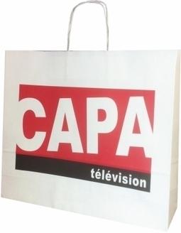 Le sac en papier de Capa Télévision - Le Sac Publicitaire   Sac papier publicitaire   Scoop.it