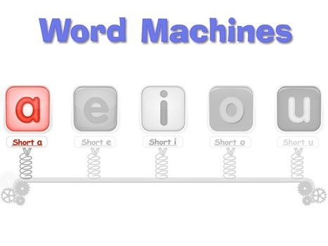 Word Machines | First Grade | Scoop.it