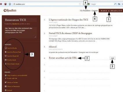 Créez un livre numérique (ebook) à partir de votre veille sur le Web | veillepédagogique | Scoop.it