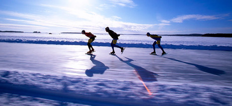 Skate your way around Finland's lakes and seas | Cheapflights.co.uk | Finland | Scoop.it