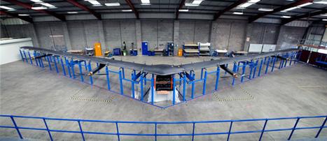 Facebook réalise un prototype de drone pour mettre Internet dans le ciel | Actualité des médias sociaux | Scoop.it