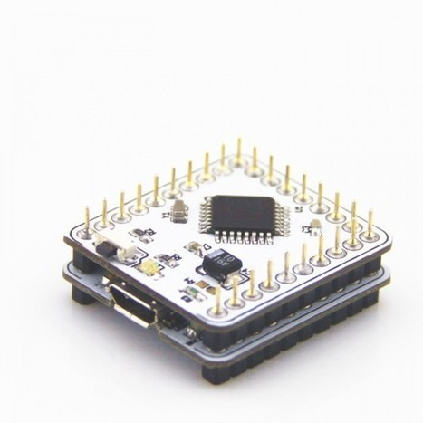 Microduino: Arduino in your pocket --small, stackable, smart | Open hardware | Scoop.it