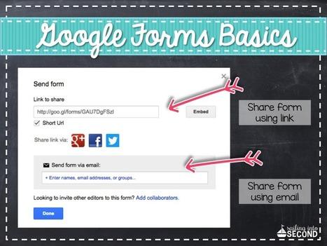 Google Forms 101   Cool School Ideas   Scoop.it