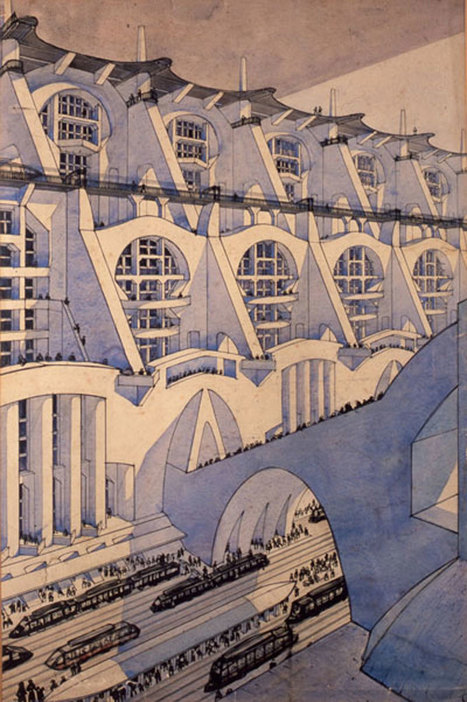 Drawings and Visions by (Other) Italian FUTURIST Architects – – SOCKS | The Architecture of the City | Scoop.it