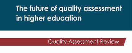 Two comparator studies for the quality assessment review - HEFCE   Quality assurance of eLearning   Scoop.it