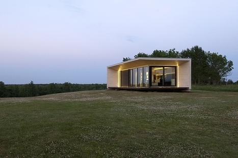 Passion House prefab: 400 square feet of Nordic design | sustainable architecture | Scoop.it