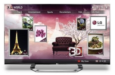 LG CINEMA Smart TVs get 3D content boost - Pocket-lint | 3d Innovations | Scoop.it