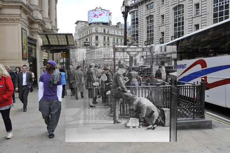 Museum of London Releases Augmented Reality App for Historical Photos | Augmented Reality Tech | Scoop.it