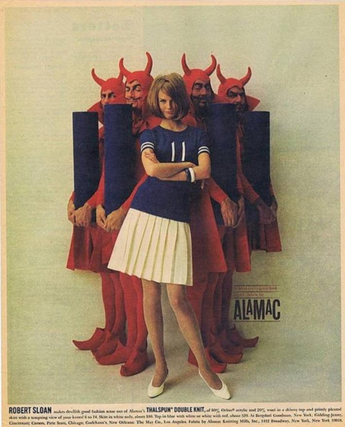 Vintage Thalspun Double Knit Ad | A Marketing Mix | Scoop.it