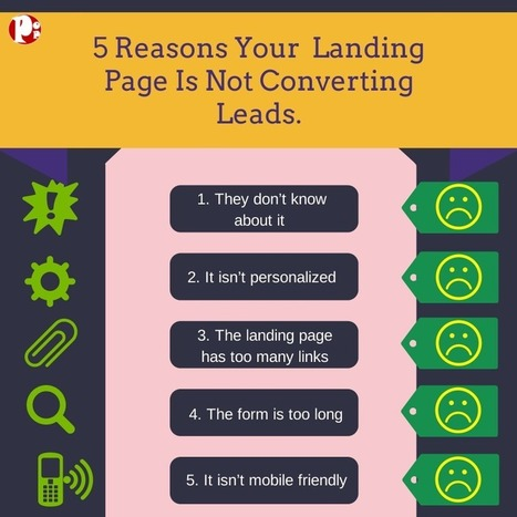 5 Reasons Your Landing Page Is Not Converting Leads   Social Media Today   Social Leads Generation   Scoop.it