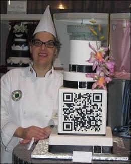 #QRcode Wedding Cake, Very cool! | QR Code Innovations | Scoop.it