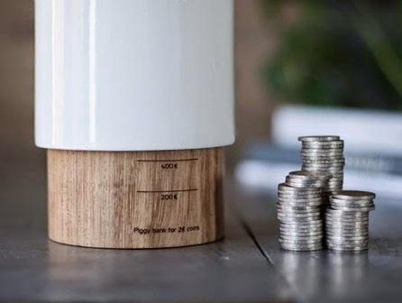 Reinvenção do mealheiro num conceito minimalista e inteligente. | Design | Scoop.it