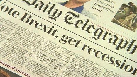 Treasury says Brexit would plunge UK into recession - BBC News | Macroeconomics: UK economy Pre-U Economics | Scoop.it