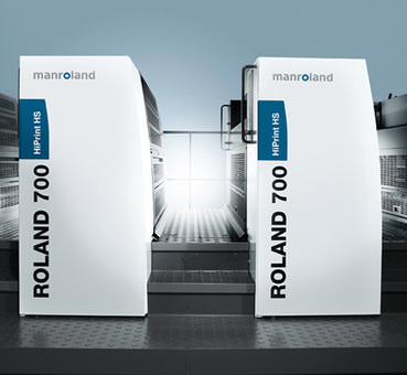 La Roland 700 HiPrint HS arrive en France   Imprimerie Magazine   Imprimerie   Scoop.it