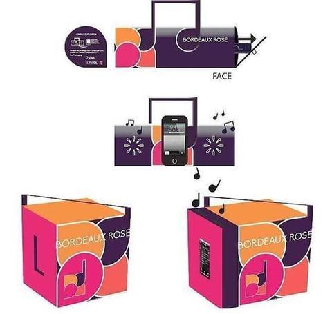 Un cubi qui amplifie le son des smartphones - maville.com | Le vin quotidien | Scoop.it