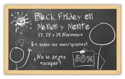 ¡Black Friday en Manos y Mente! | Red Social de Manos y Mente | Scoop.it