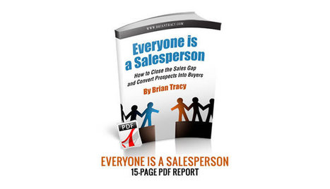 FREE REPORT — Everyone is a Salesperson | Marketing | Scoop.it