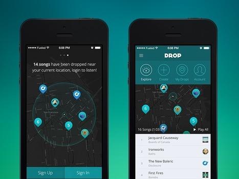 Drop UI | Benchmark Mobile User Interface | Scoop.it