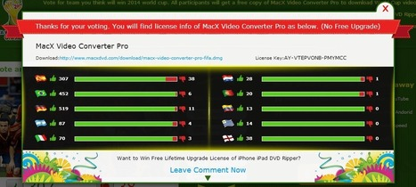 2014 FIFA World Cup Giveaway: Vote and Win MacX Video Converter Pro | Blogging Tips | Scoop.it