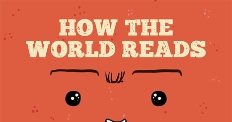 INFOGRAPHIC: How the World Reads – Electric Literature | For English Teachers & English Classrooms | Scoop.it