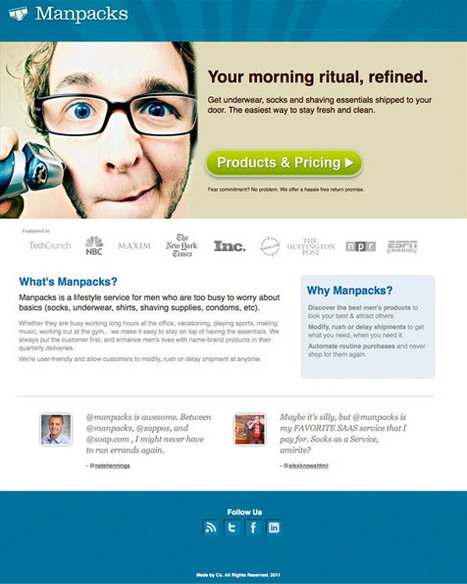 Landing Pages 101 | Landing Page Conversion Course | Oregon Startup | Scoop.it