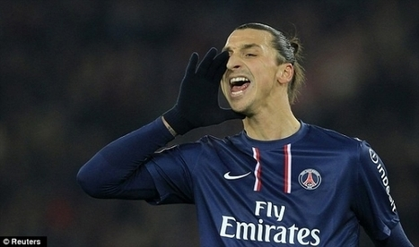 Ibrahimovic urges Rooney to join PSG   Football Top.com   Man Utd news   Scoop.it