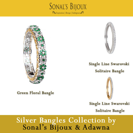Many Reasons to Shop Endearing Silver Earrings and Bangles - Silver Bangles & Bracelets Online for Women in India | Sonals Jewellery | Scoop.it