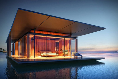 A Sustainable Floating House Concept | Sustainable Real Estate | Scoop.it