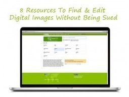 8 Resources To Find & Edit Digital Images Without Being Sued | TEFL & Ed Tech | Scoop.it