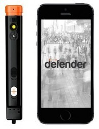 Defender, le premier dispositif de protection personnelle connecté - Web des Objets | sante | Scoop.it