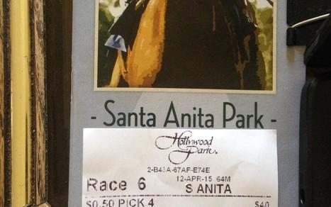$0.50 Pick 4 Santa Anita | horse racing | Scoop.it