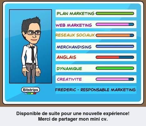 Bitstrips devient-il un outil marketing, rh?   web marketing: le emag par Frédéric BRAZIER   Scoop.it