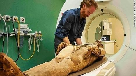 Les momies égyptiennes sont dénudées virtuellement grâce à la technique de la tomodensitométrie | Égypt-actus | Scoop.it