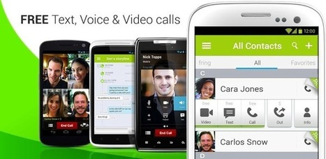 Top 3 Free Android Video Calling Apps | skype | Scoop.it
