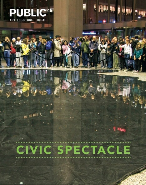 "Thrilled to have an article ""Nuit Blanche & Transformational Publics' in the latest Issue 45: Civic Spectacle Public Journal 