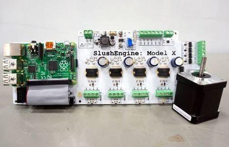 SlushEngine Raspberry Pi Stepper Motor Driver (video) - Geeky Gadgets   Raspberry Pi   Scoop.it
