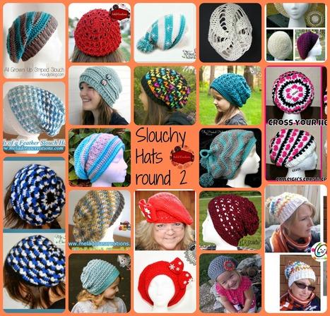 Slouchy Hats – Part 2 | KatiDCreations | Free Crochet Patterns | Scoop.it