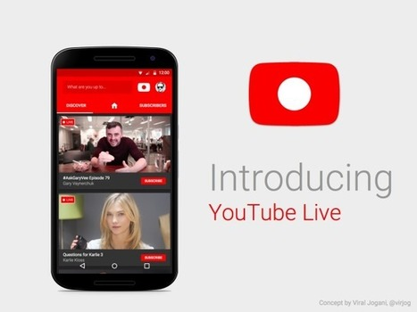 Streaming en direct : YouTube à l'assaut de Periscope et Facebook Live | Digital Social Club | Scoop.it