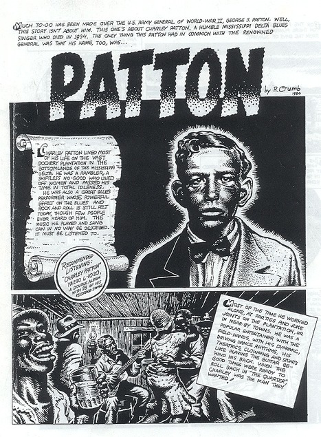 Charlie Patton by R.Crumb | The Blues | Scoop.it