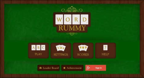 Word Rummy - Android Word Game Application By Biztech Consultancy | Android & IOS  Application Development | Scoop.it
