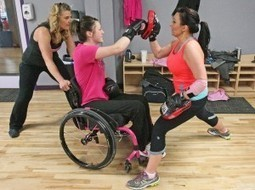 MSUB student paralyzed in crash discovers new passion in Pink Gloves boxing - Billings Gazette   Nathans scoop it   Scoop.it