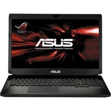 """ASUS G750JX-DB71 Core i7-16GB-1TB-256GB SSD-Win8-17.3"""" Notebook 